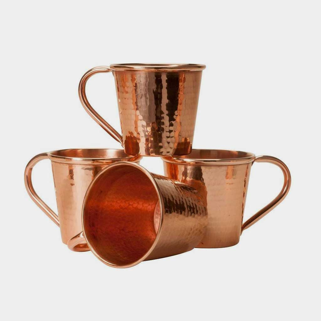 Hammered Copper Moscow Mule Mugs | Bevvy Shop & Hammered Copper Moscow Mule Mugs 12 oz | Bevvy Shop